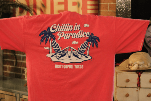 Stanleys General Stores Matagorda Texas Chillin in Paradice t-Shirt