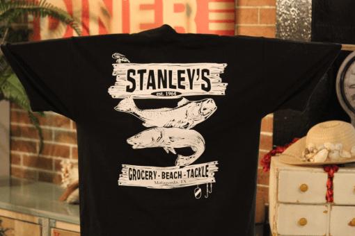 Stanleys General Stores Matagorda Texas Fishing T-Shirt
